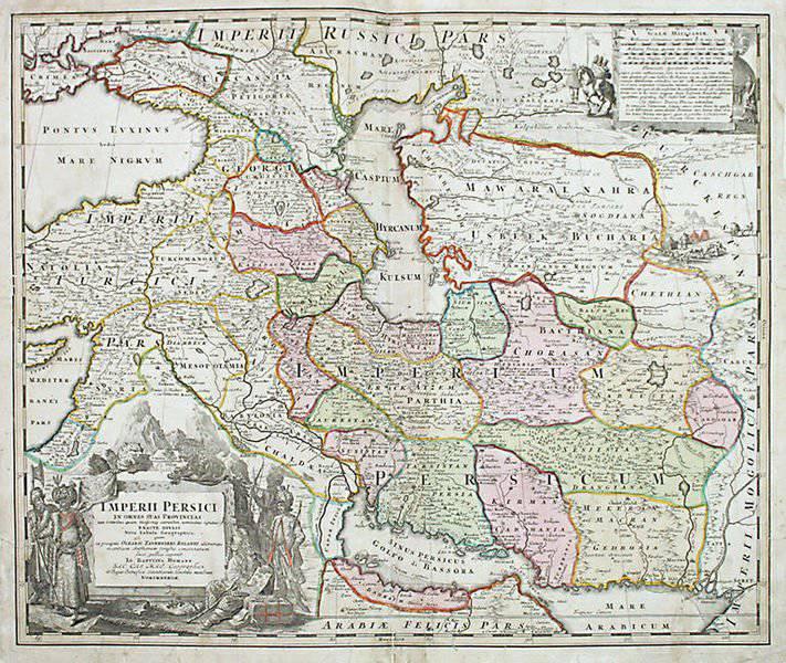 Кавказ персия и россия восточная