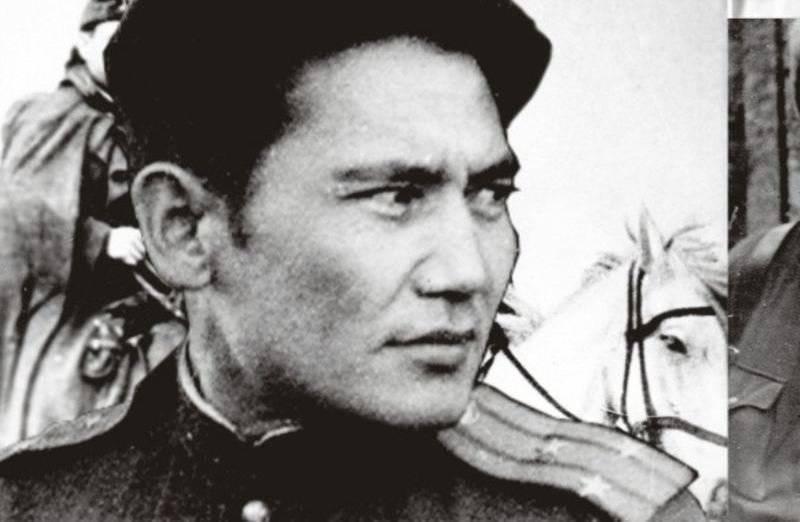 सोवियत संघ के नायकों कजाख वीर महाकाव्यों से बैट्समैन के रूप में