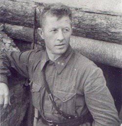 General valiente. Komdiv Alexander Rodimtsev - uno de los personajes principales de la batalla de Stalingrado