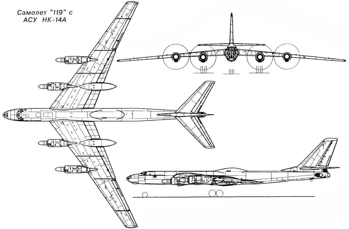 Его поместили в габаритный имитатор фюзеляжа самолета Ту-95.  Вскоре испытательный стенд вместе с реактором отправили...