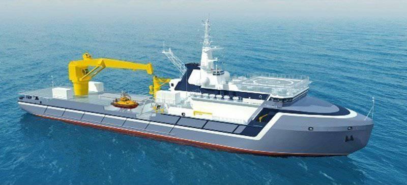 सहायक जहाजों की परियोजना 20180