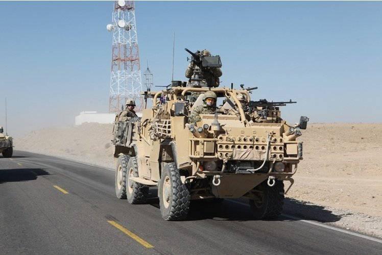Vehículo blindado Supacat HMT Extenda fuerzas especiales.