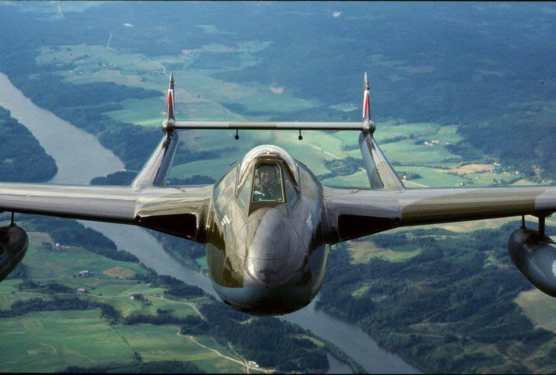 Cuando un fuselaje no es suficiente: planos de esquema de dos vigas.
