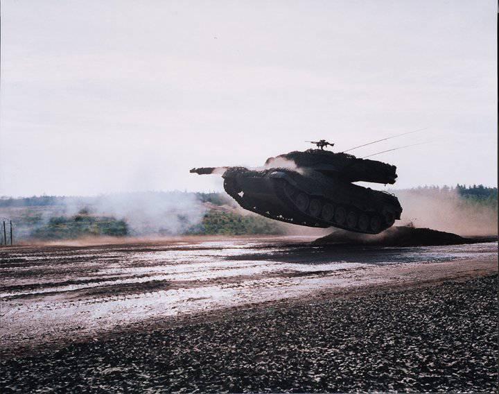 Arabia Saudita está considerando la adquisición de tanques alemanes.