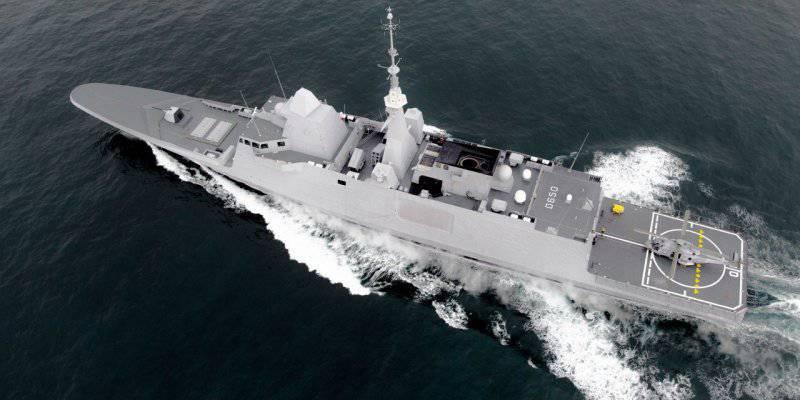 프랑스 함대 용 광학 전자 시스템