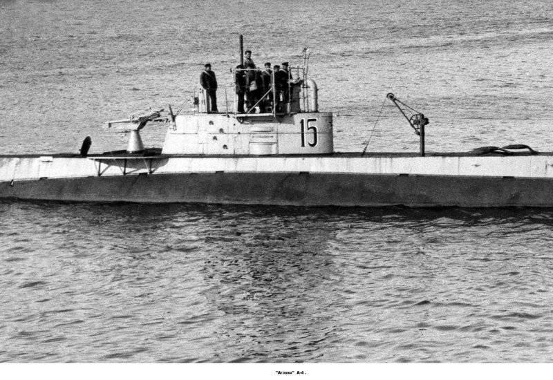 """Подводные лодки типа """"АГ"""" (""""Американский Холланд"""")"""