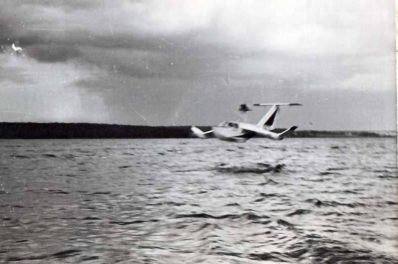 Ekranoplan experimental ESKA-1