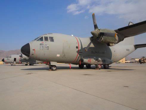 Fiasco final con C-27A afgana.