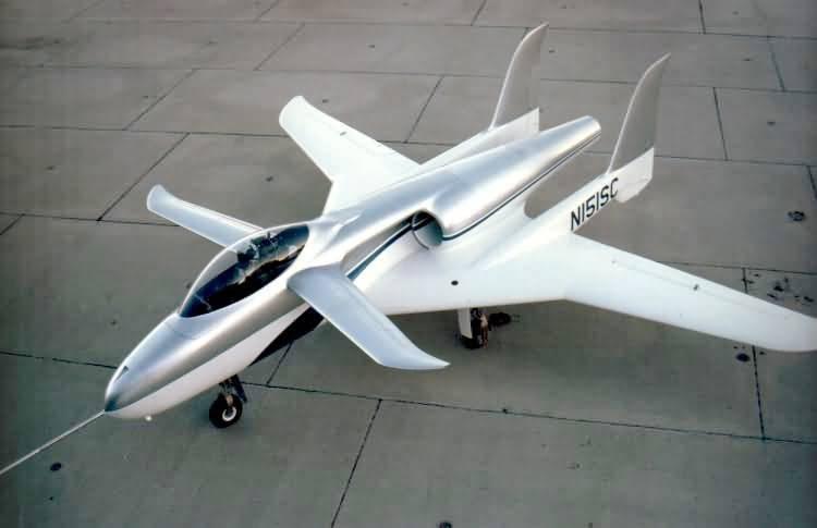 Avión de ataque experimental americano ARES.