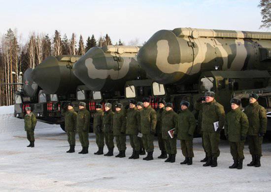 La edad de la mitad de los oficiales de las Fuerzas de Misiles Estratégicos es de hasta 30 años.