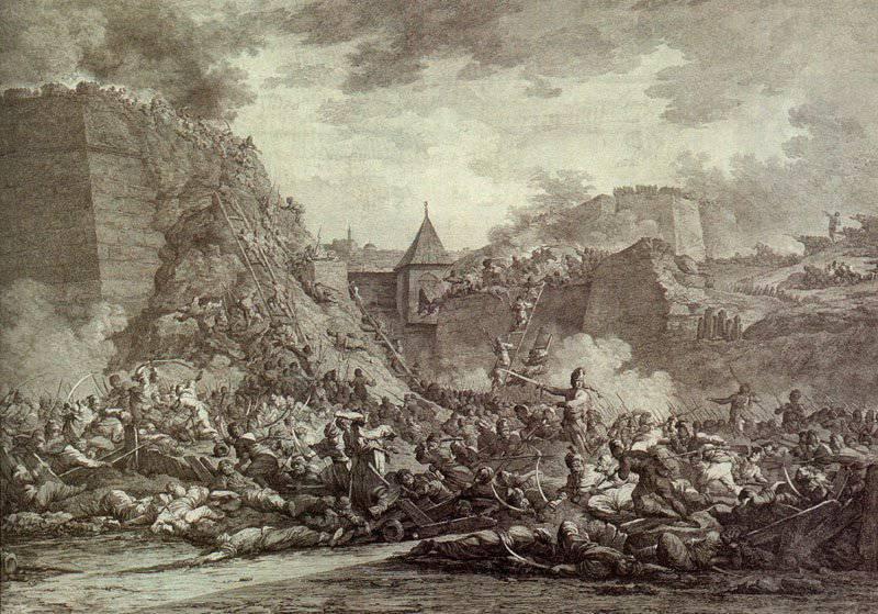 9 1月1792结束了Yasskogo和平条约