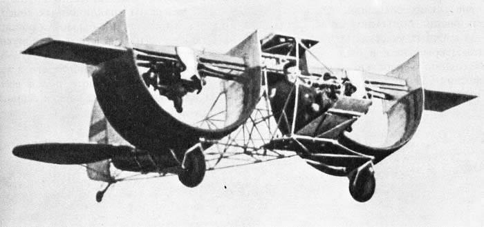 अमेरिकी प्रायोगिक विमान CCW