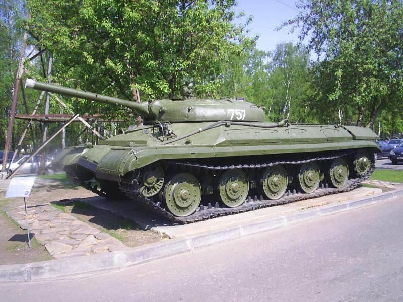 """सोवियत प्रयोगात्मक रॉकेट भारी टैंक """"ऑब्जेक्ट 757"""""""
