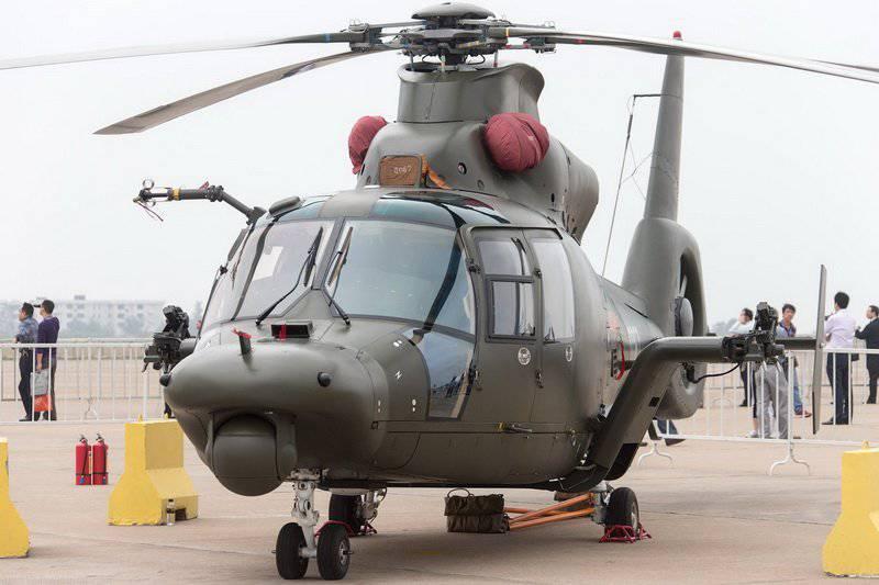 Helicóptero multifuncional chino Harbin Z-9