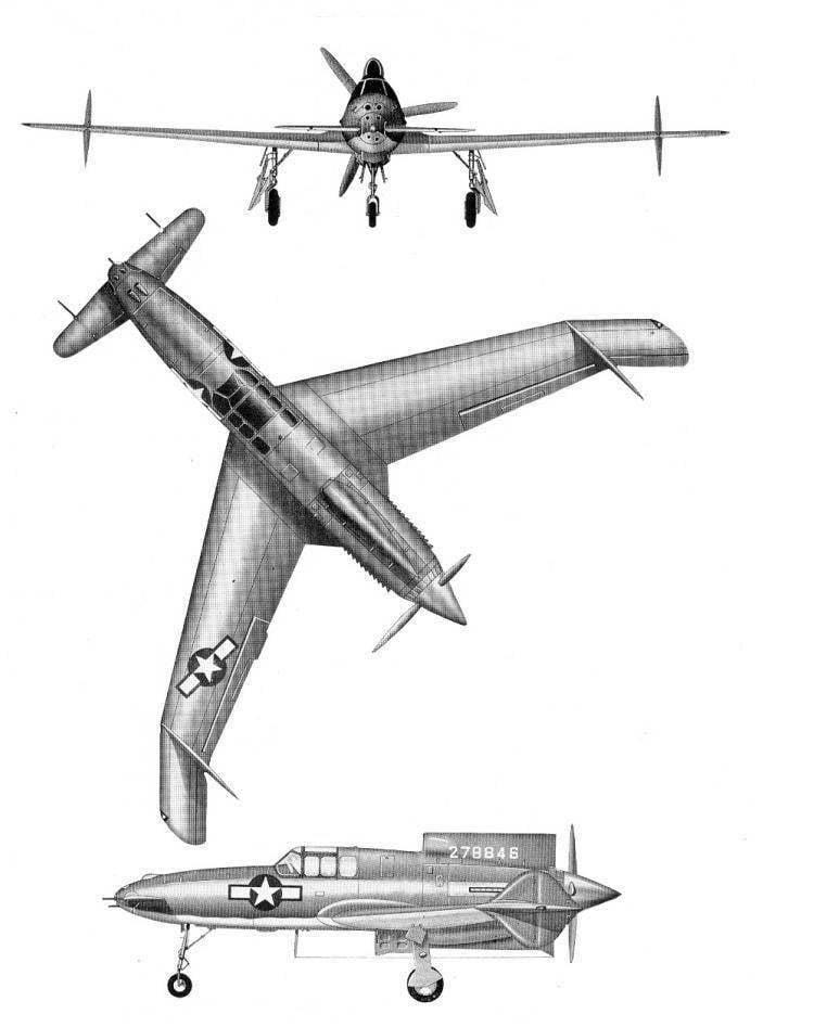 ...(в частности, несколько раз изменяли геометрию вертикального оперения и крыла в... Самолет CW-24B был оснащен...