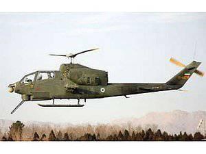 Una manifestación pública del nuevo helicóptero de ataque Toufan 2 tuvo lugar en Irán.