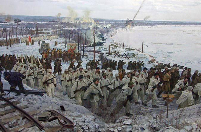 작전 불꽃. 레닌 그라드 봉쇄의 돌파구 70 기념일