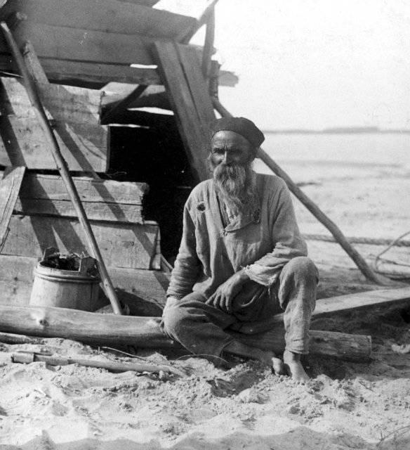 Rusia pre-revolucionaria en las fotos. La vida campesina del volga.