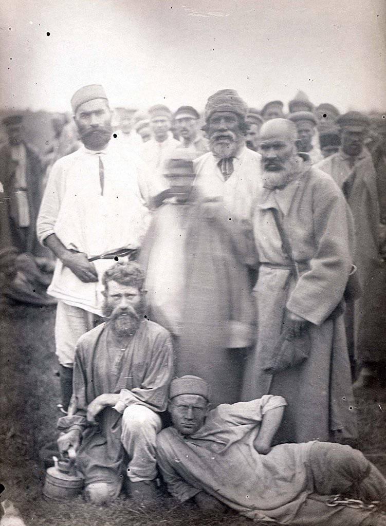 Rusia pre-revolucionaria en las fotos. Cárceles y convictos