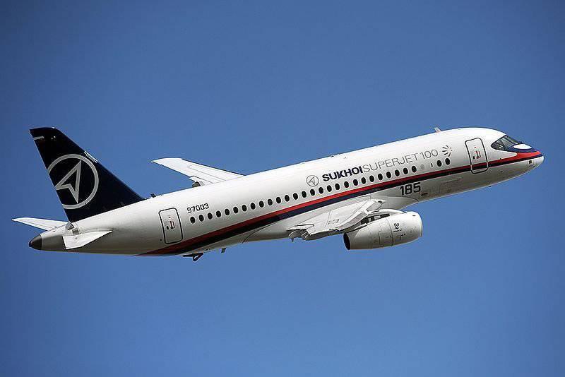 Os primeiros resultados do trabalho da indústria russa no campo da aviação civil em 2012