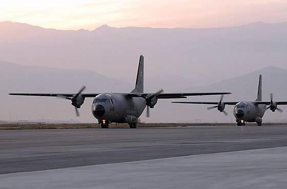 美国国防部打算取消为阿富汗空军提供军事技术合作G-222的计划