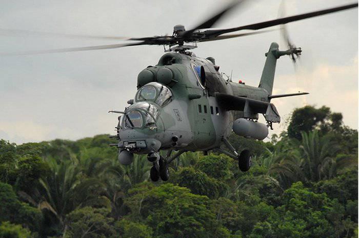 """Mi-35M - el segundo nacimiento de """"Cocodrilo"""""""
