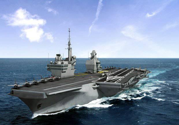Porte-Avions 2 (PA2) Nuevo portaaviones de la Armada francesa