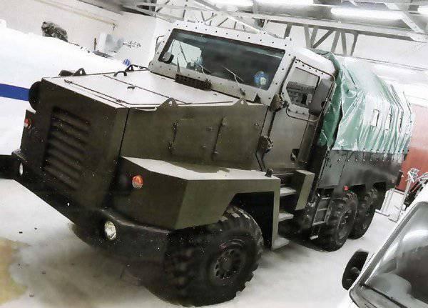 """Proyecto del camión blindado """"Stargazer-Federal-M"""""""
