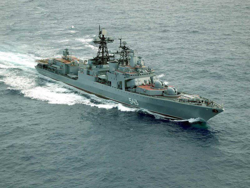 ТТХ военно-морской группировки у берегов Сирии