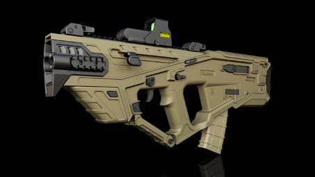 Rifle Concept Corpus Grav Rifle  Fan Concepts  Warframe