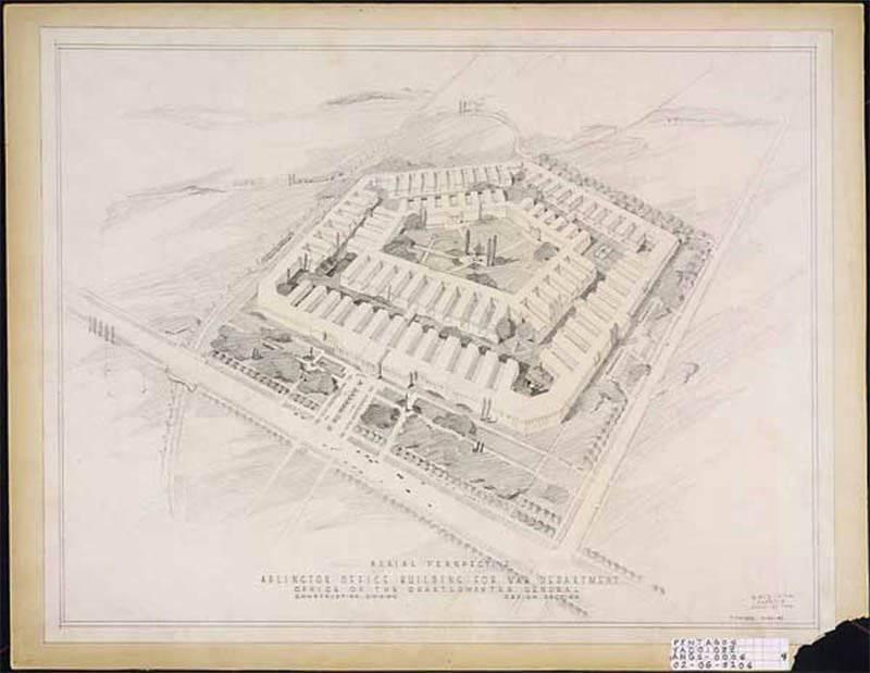 70 años atrás se completó la construcción del Pentágono.