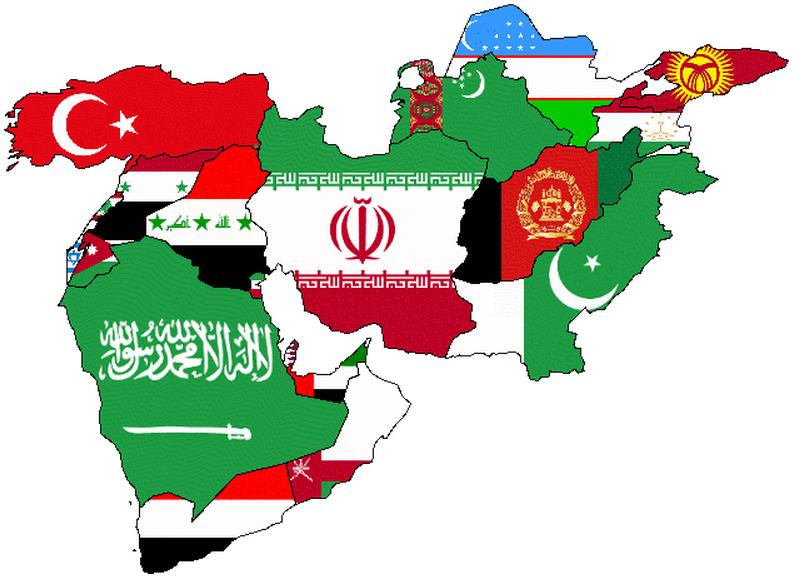 रूस का मध्य पूर्व पाठ्यक्रम: ऐतिहासिक चरण
