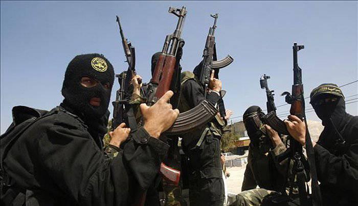 Ayudantes inestables del terrorismo.
