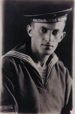 Zamikhovsky Grigory Efimovich - Marinero de la flota del Mar Negro