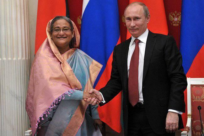 Bangladesh e Rússia: um novo começo