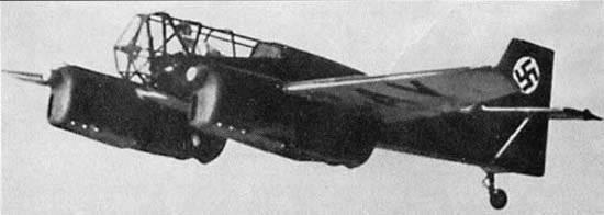 Avión experimental alemán B9 Berlin