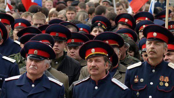 Escuadrones cosacos en Kuban: fortalecimiento del estado de derecho u otro paso del gran chovinismo ruso (las opiniones de bloggers caucásicos)