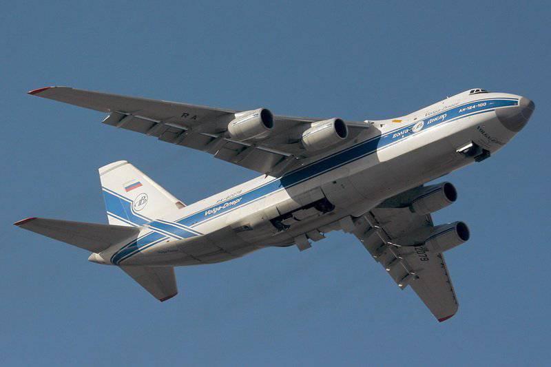 """An-124 """"Ruslan"""" no fue necesitado por los militares"""
