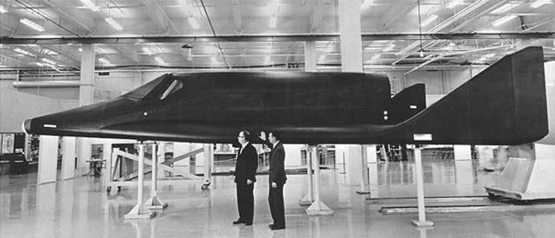 सौभाग्य और असफल हाइपरसोनिक विमान