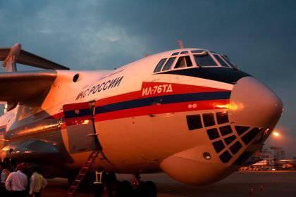 В сирию отправят два самолета мчс