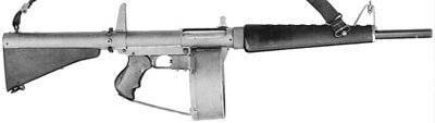 Guns 12 caliber with the possibility of automatic fire