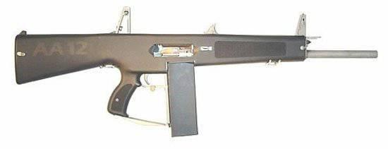 Американский дробовик AA-12 (Auto Assault 12) Automatic Shotgun предназначен только для армейских и полицейских...