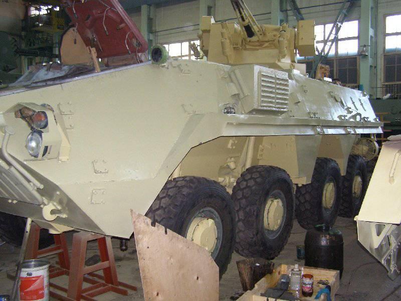 नई यूक्रेनी बख़्तरबंद कार्मिक वाहक BTR-4МВ
