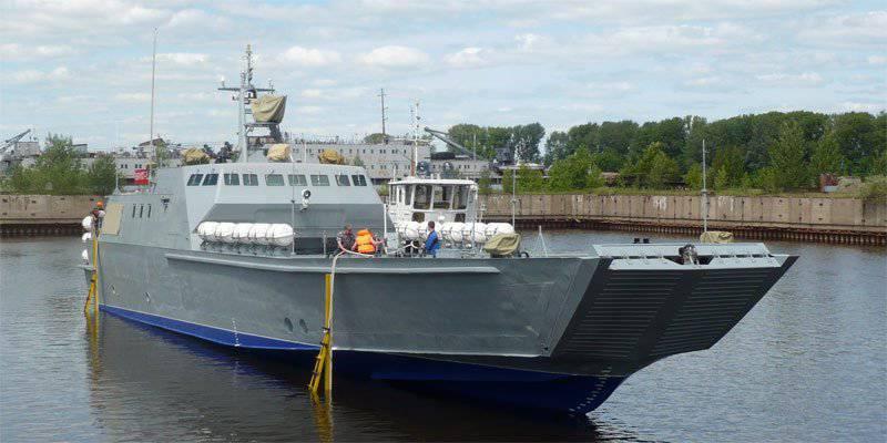 """La Armada rusa recibirá tres nuevos barcos del tipo """"Dugong"""" en 2013-2014"""