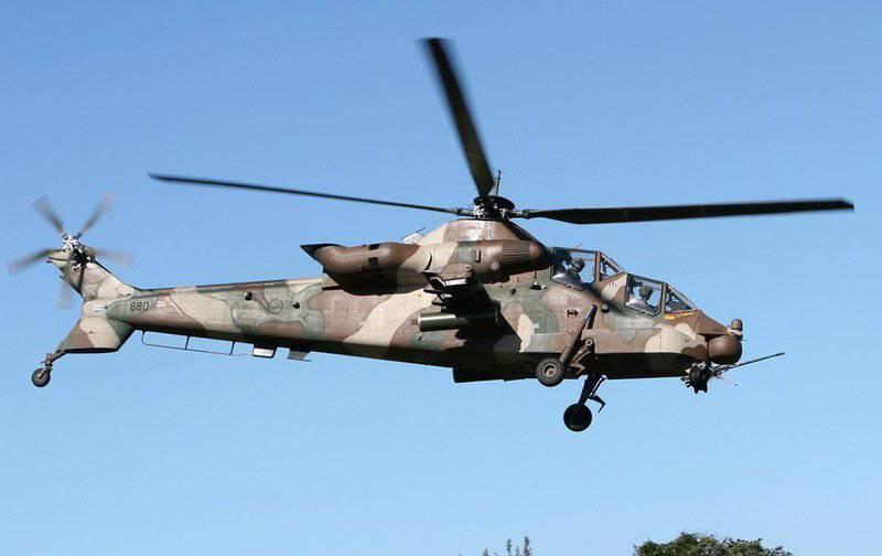 Helicóptero de ataque Denel AH-2 Rooivalk (Sudáfrica)