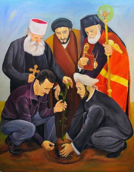 शांति के लिए प्रार्थना और युद्ध के लिए कॉल के बारे में