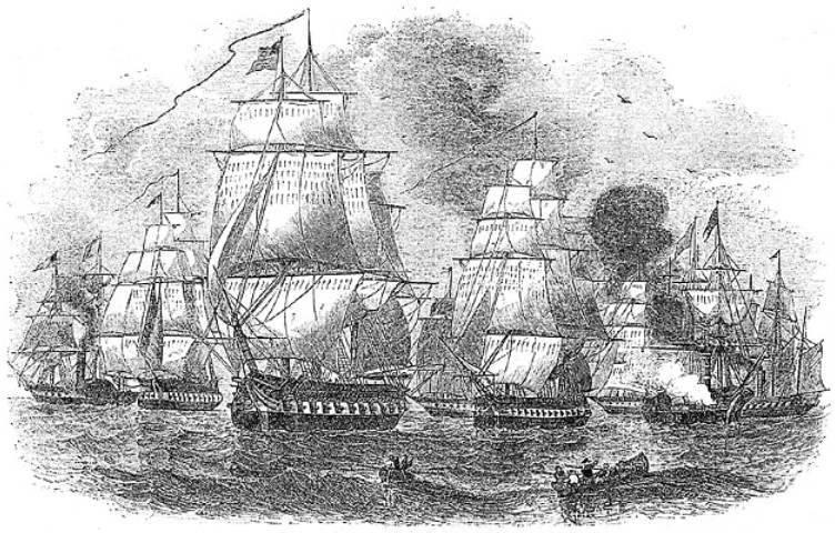 La carrera de Yamato y el descubrimiento de Japón por el comodoro Perry. Parte de 2