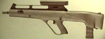 Máquina automática para municiones con balas en forma de flecha de Steyr