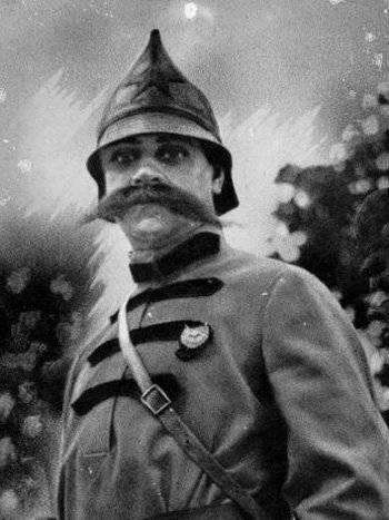 Офицеры и генералы царской армии на