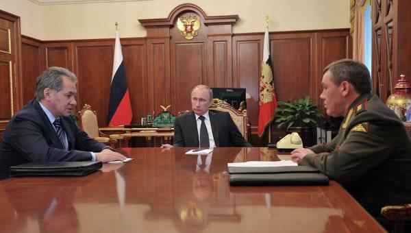 शोईगु ने पुतिन को हथियारों और उपकरणों की मरम्मत की प्रणाली को बदलने का सुझाव दिया